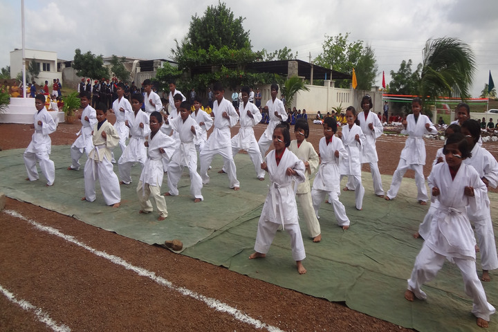 Shri B T Patil Memorial Nandi International Residential School-Karate