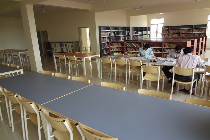 Shri B T Patil Memorial Nandi International Residential School-Library