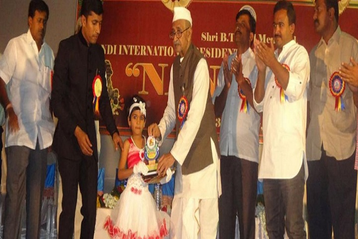 Shri B T Patil Memorial Nandi International Residential School-Awards
