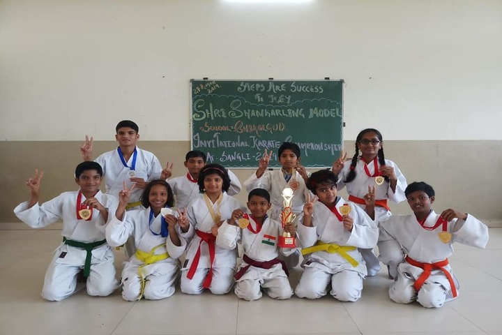 Shri Shankarling Model School-Karate