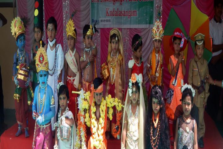 Shri Siddhaganga Residential School Kudalasangam-Fancy-Dress