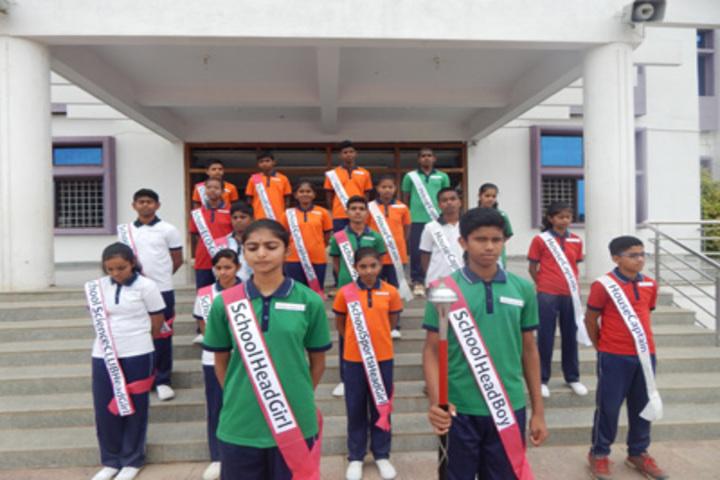 Shri Siddhaganga Residential School Kudalasangam-Investiture-Ceremony