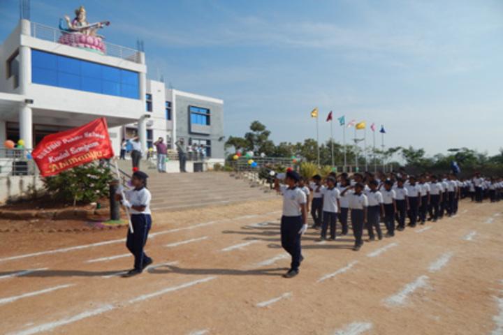 Shri Siddhaganga Residential School Kudalasangam-Rally