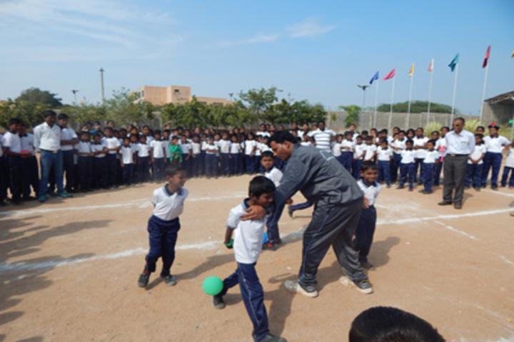 Shri Siddhaganga Residential School Kudalasangam-Sports