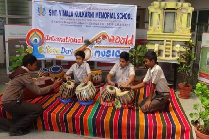 Smt Vimala Kulkarni Memorial School-Music Class