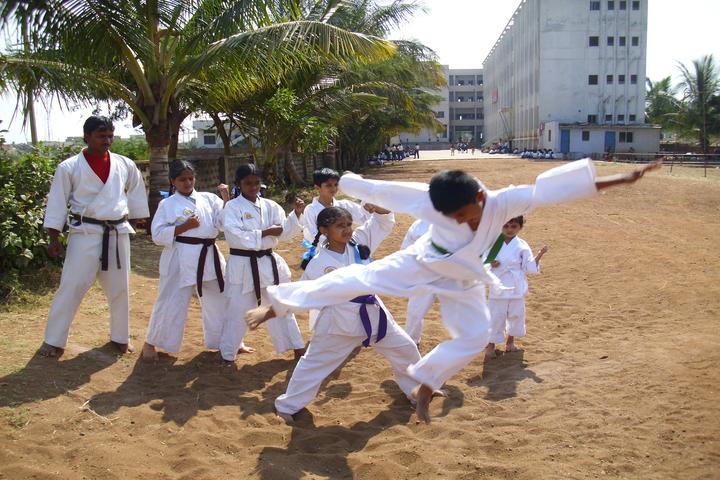 Smt Drakshayani Kalyanshettar Public School-Karate