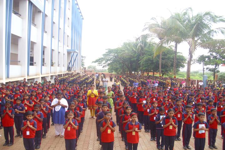 Smt Drakshayani Kalyanshettar Public School-Morning-Assembly