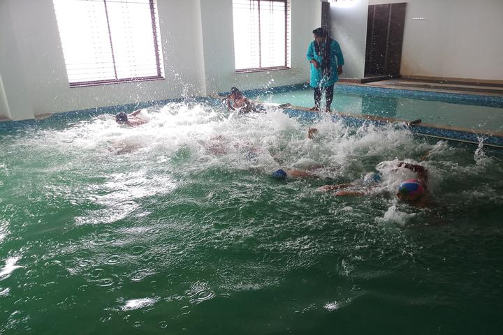 Smt Drakshayani Kalyanshettar Public School-Swimming