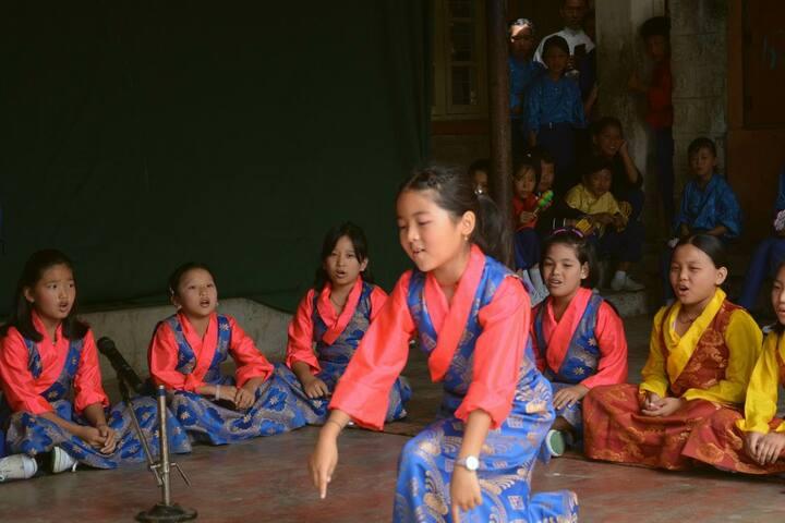 Sos Tibetan Childrens Village-Activity