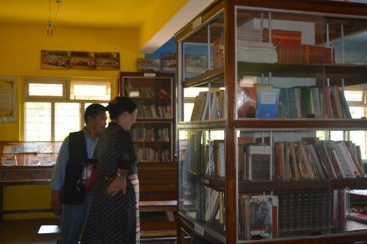 Sos Tibetan Childrens Village-Library