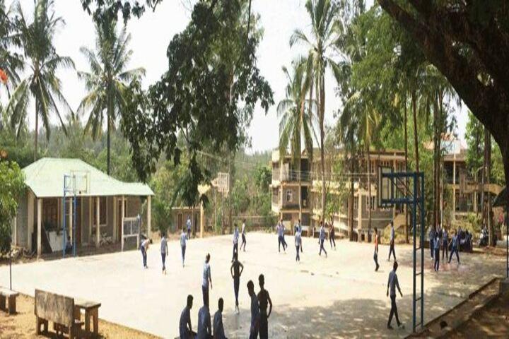 Sos Tibetan Childrens Village-Volley-Ball-Court