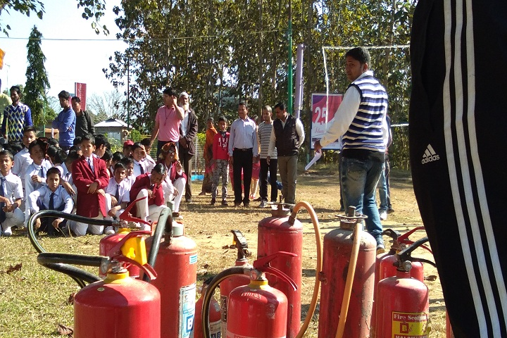Jawahar Navodaya Vidyalaya-Demo  control fire