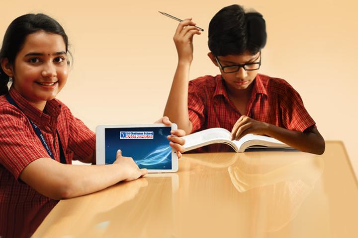 Sri Chaitanya Techno School-Library