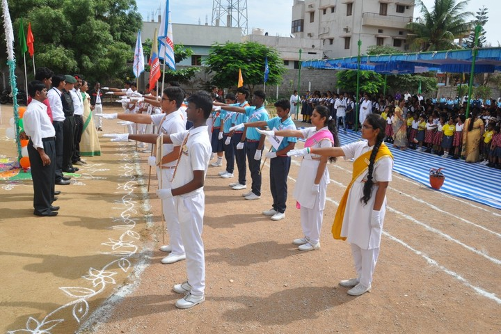 Sri Chaitanya Techno School-Investiture-Ceremony