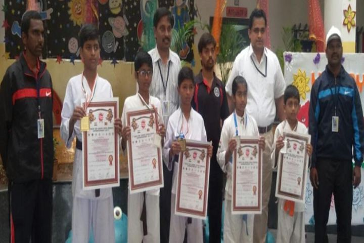 Sri Chaitanya Techno School-Karate-Achievement