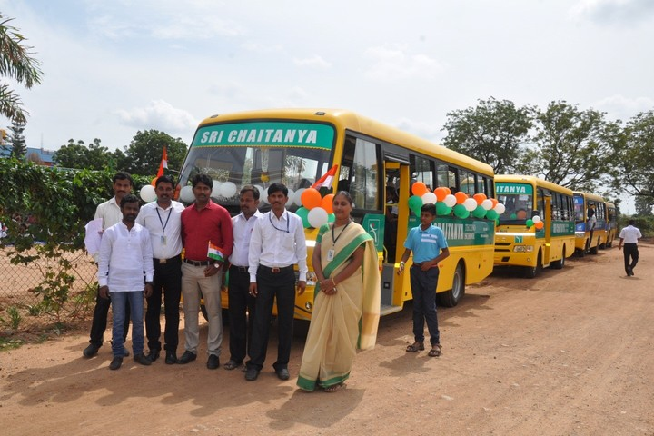 Sri Chaitanya Techno School-Transport