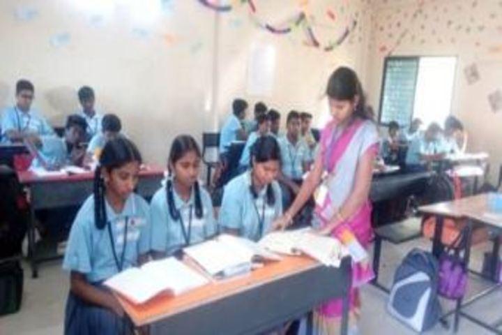 Sri Chaitanya Techno School-Classroom