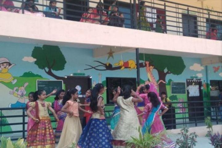 Sri Chaitanya Techno School-Dance