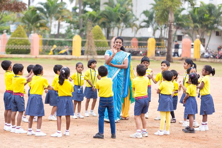 Sri Chaitanya Techno School-Fun Activity