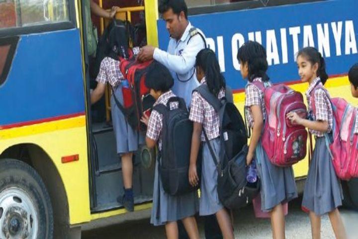 Sri Chaitanya Techno School-Transport