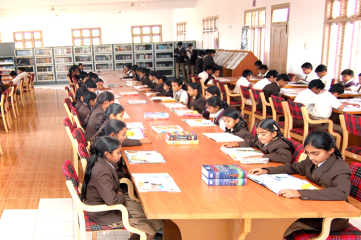 Sri Devaraj Urs Internatonal Residential School-Reading Room
