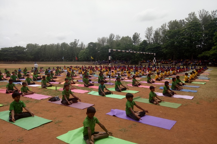 Sri Devaraj Urs Internatonal Residential School-Yoga