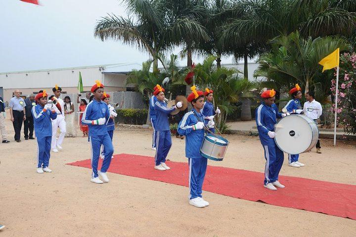 Sri Jnana Gangotri International School-School Band