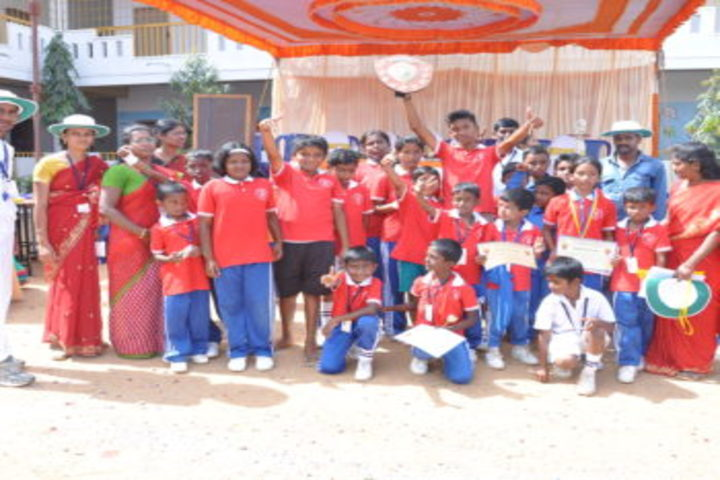 Sri Jnana Gangotri International School-Students