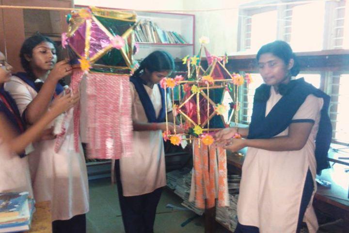 Sri Lakshmi Janardhan International School-Art and Craft