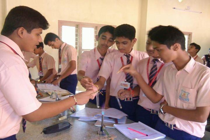 Sri Lakshmi Janardhan International School-Chemistry Lab