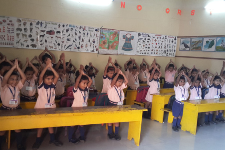 Sri Lakshmi Janardhan International School-Classroom
