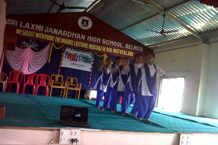 Sri Lakshmi Janardhan International School-Dance