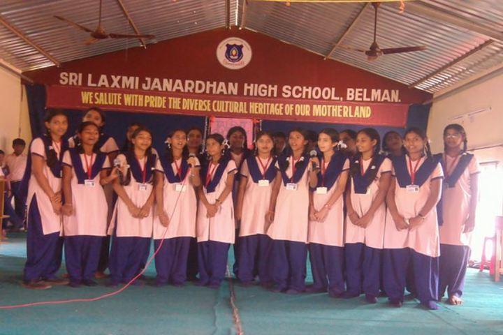Sri Lakshmi Janardhan International School-Group Singing