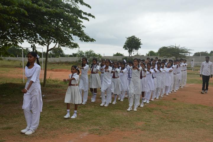 Sri Lakshmi Venkateshwara Public School-March Past