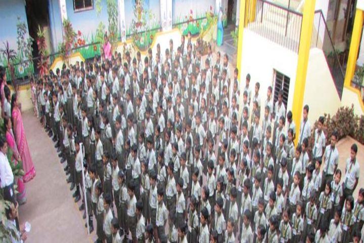 Sri M Y Ghorpade English Medium Higher Primary School-Assembly