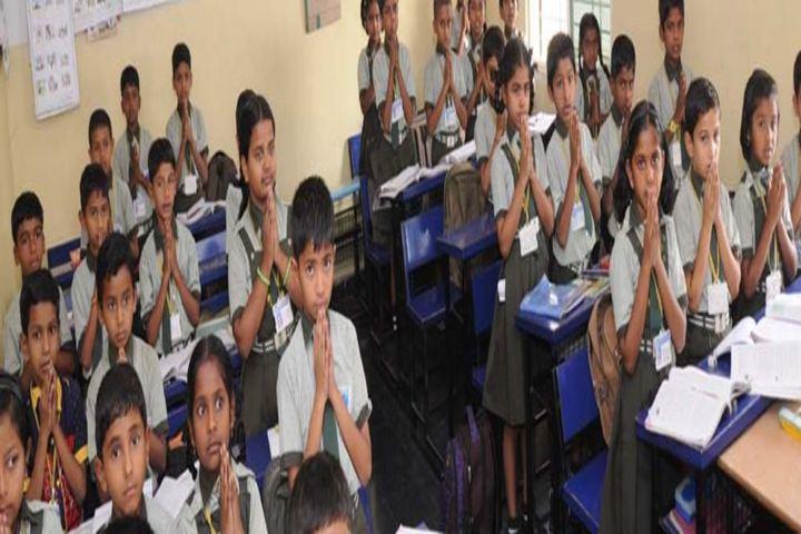 Sri M Y Ghorpade English Medium Higher Primary School-Classroom