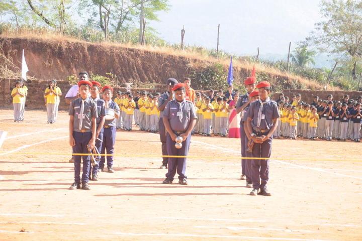 Sri Mookambika Public School-NCC