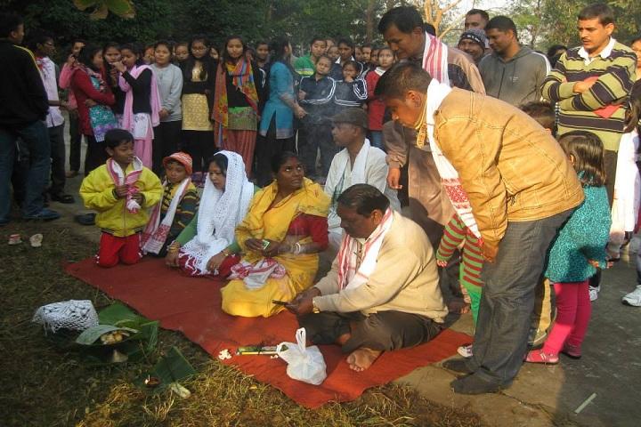 Jawahar Navodaya Vidyalaya-Pooja celebration