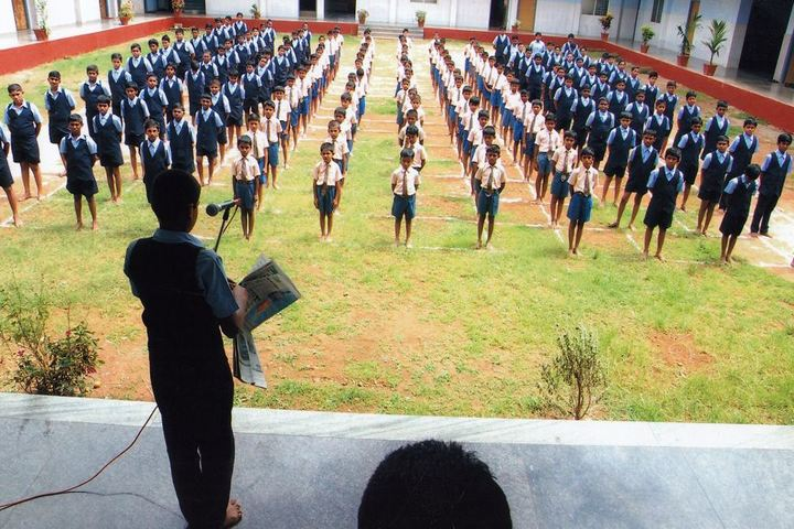 Sri Ramakrishna Vivekananda Residential School-Assembly Ground