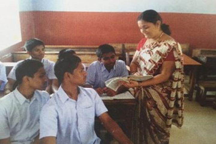 Sri Ramakrishna Vivekananda Residential School-Classroom