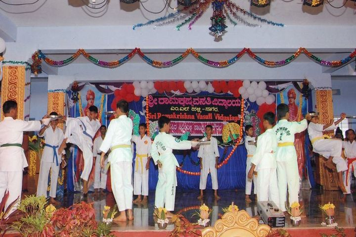 Sri Ramakrishna Vivekananda Residential School-Karate