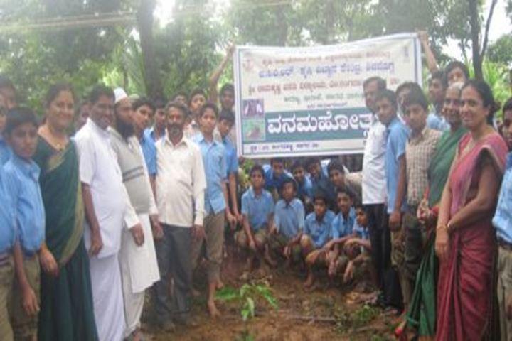 Sri Ramakrishna Vivekananda Residential School-Planting