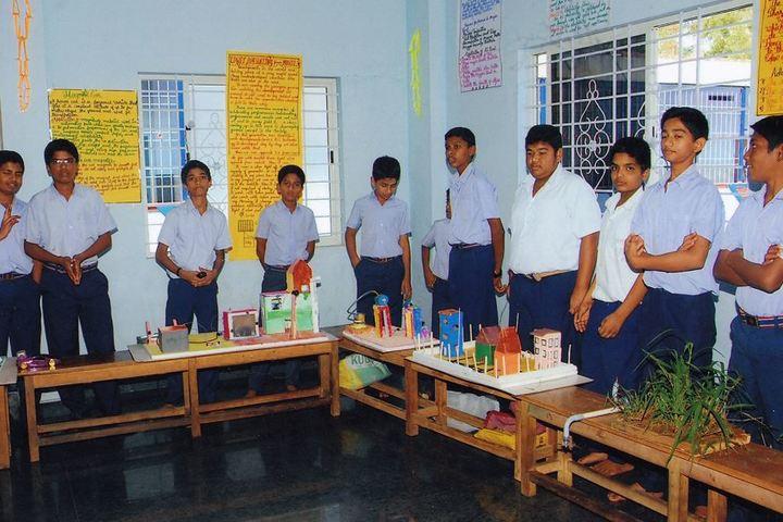 Sri Ramakrishna Vivekananda Residential School-Science Exhibition