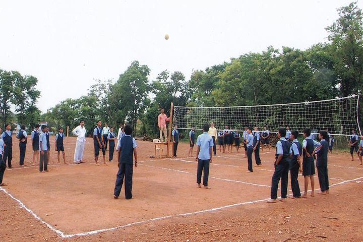 Sri Ramakrishna Vivekananda Residential School-Sports Court