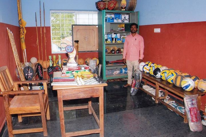 Sri Ramakrishna Vivekananda Residential School-Sports Room