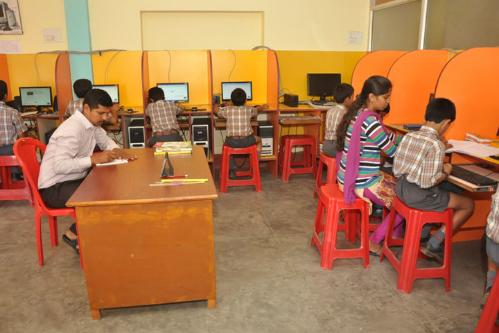 Sri Sai Angles School-Computer Lab