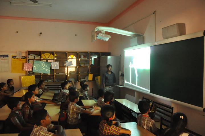 Sri Sai Angles School-Digital Teaching