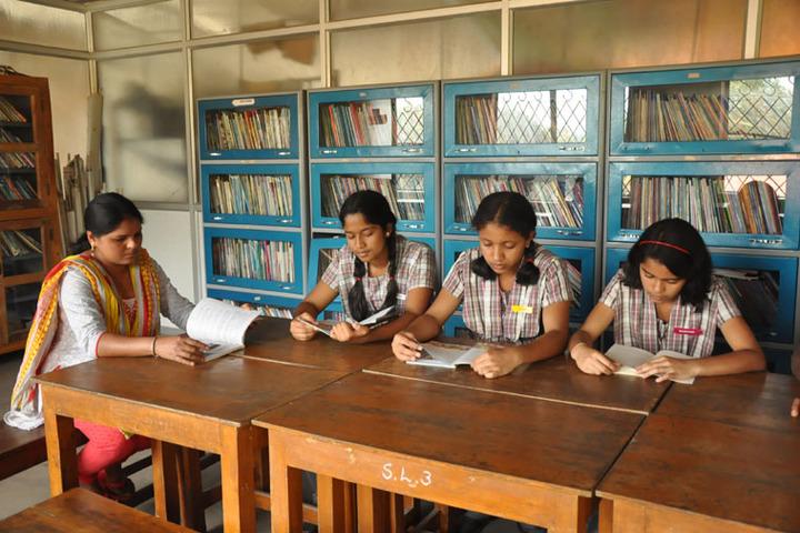 Sri Sai Angles School-Library