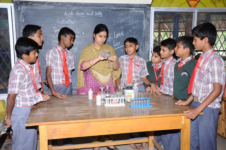 Sri Sai Angles School-Science Lab
