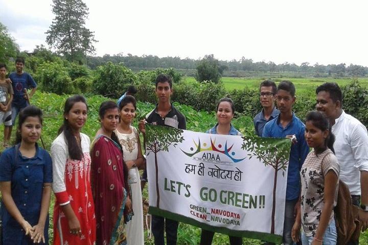 Jawahar Navodaya Vidyalaya-Go green